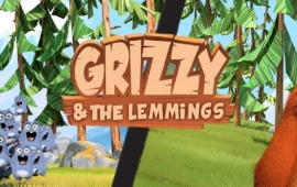 کارتون Grizzy and the Lemmings